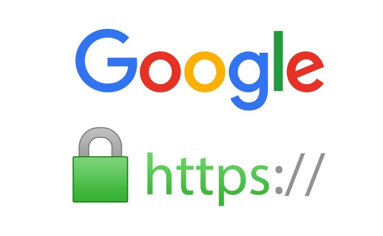 Porque con un Certificado SSL su sitio es seguro para Google