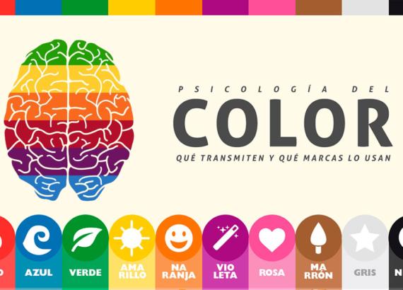 La psicología del color en diseño gráfico