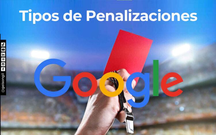 Tipos de Penalizacion de Google - Black Hat SEO